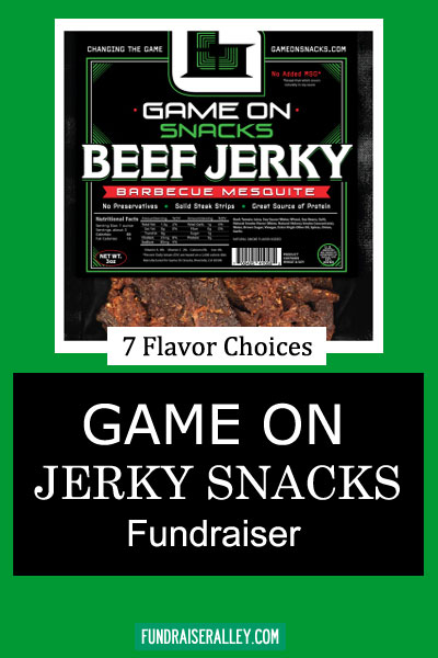 Game On Jerky Snacks Fundraiser