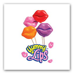 Yummy Lips Lollipops