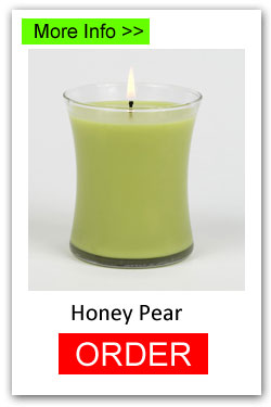 Honey Pear Scented Candles for Fundraising - Order Online