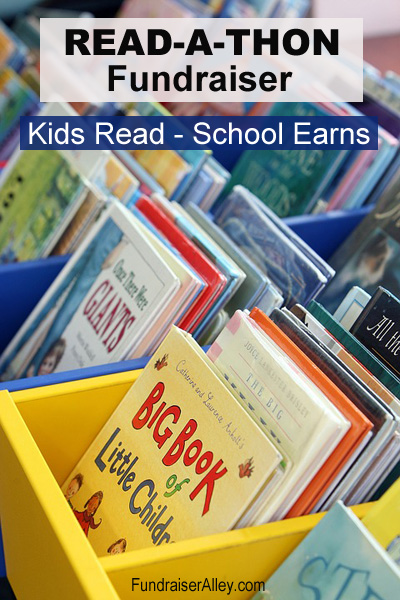Read-a-Thon Fundraiser - Kids Read, School Earns