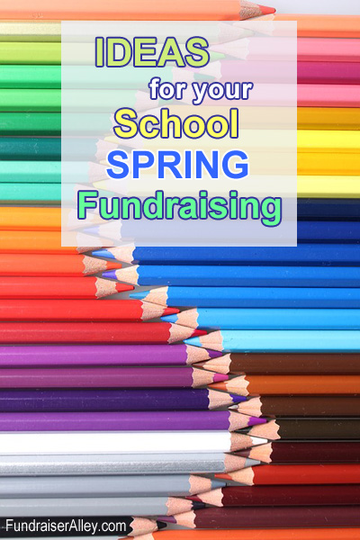Ideas for Your School Spring Fundraising