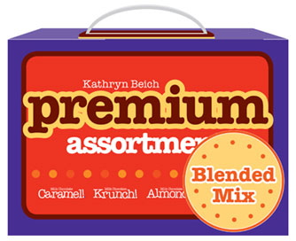 Kathryn Beich Premium Assortment Candy Bar Fundraising Kit