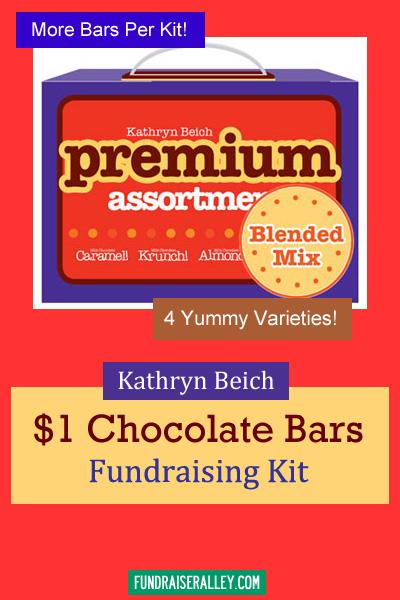 Kathryn Beich Premium Assortment Candy Bar Fundraising Kit