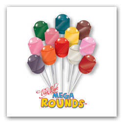 Mega Rounds Lollipops