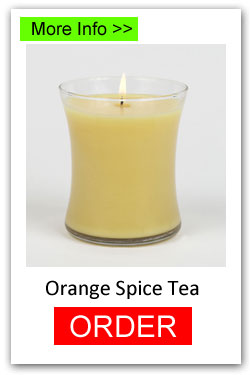 Orange Spice Tea Scented Candles for Fundraising - Order Online