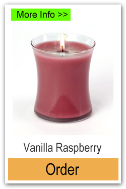 Order Vanilla Raspberry Scented Candles