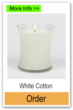 Order White Cotton Scented Candles