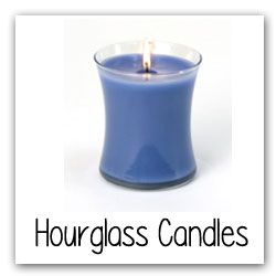 Hourglass Candles
