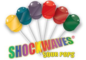 Shockwaves Sour Lollipops