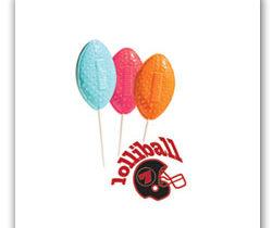 Football Lollipops