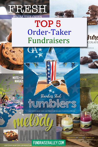 Top 5 Order-Taker Fundraisers
