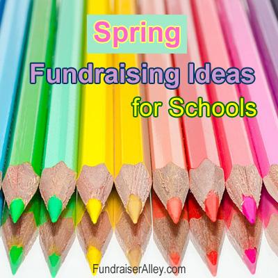 Spring Fundraising Ideas for Schools
