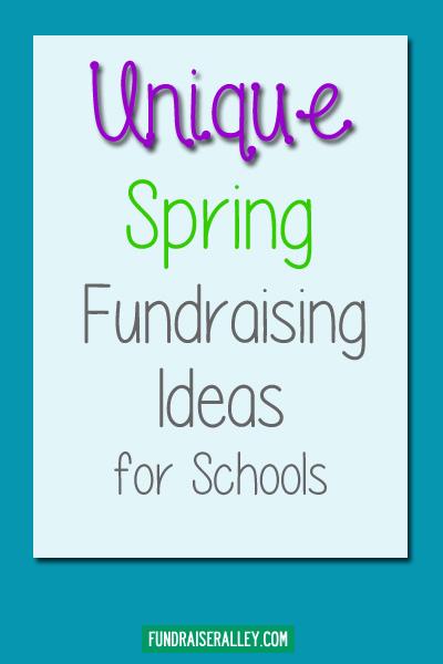 Unique Spring Fundraising Ideas for Schools