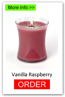 Vanilla Raspberry Scented Candles for Fundraising - Order Online