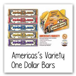 America's Variety One Dollar Bars