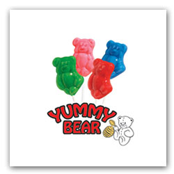 Yummy Bears Lollipops