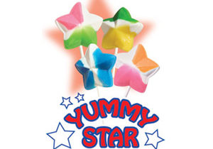 Yummy Stars Lollipops