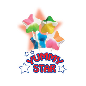 Yummy Stars Lollipops for Fundraising