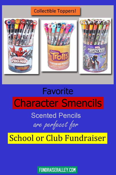 Character Smencils for Fundraising