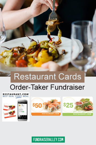 Restaurant Cards Order-Taker Fundraiser
