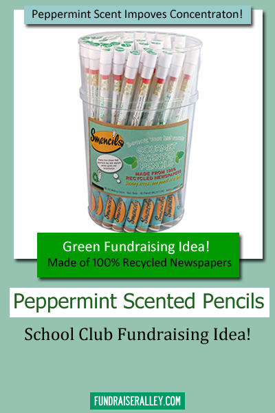 Peppermint Scented Pencils - School Club Fundraising Idea