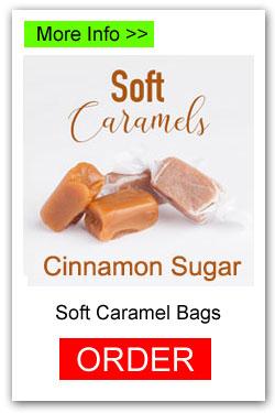 Soft Caramels Fundraiser - Cinnamon Sugar