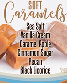 Caramels Order Taker Fundraising Brochures