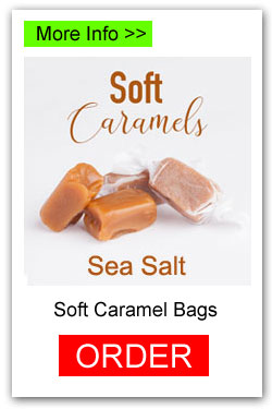 Sea Salt Soft Caramels - More Info/Order Online