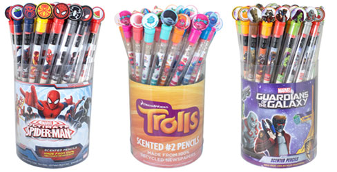 Character themed Smencils for school fundraising