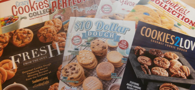 Cookie Dough Fundraising Brochures