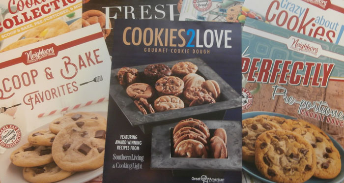 Cookie Dough Order-Taker Brochures