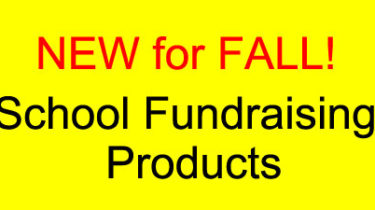 New Fall School Fundraising Products