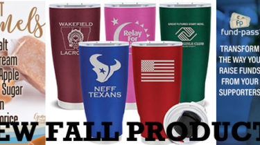 New Fundraising Products for Fall 2018