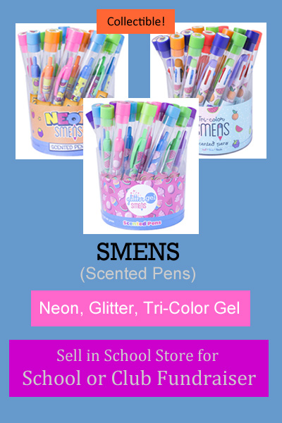Smens (Scented Pens) for Fundraising - Glitter, Tri-Color, Neon Gel