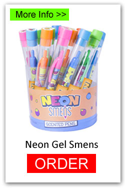 Neon Gel Smens for Fundraising