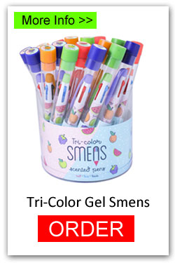 Tri-Color Gel Smens for Fundraising