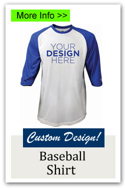 Custom Baseball Shirt Fundraiser