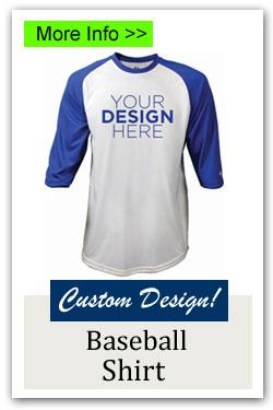 Custom Baseball Shirt Fundraiser