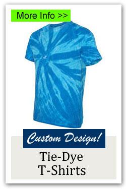 Custom Tie Dye T-Shirt Fundraiser