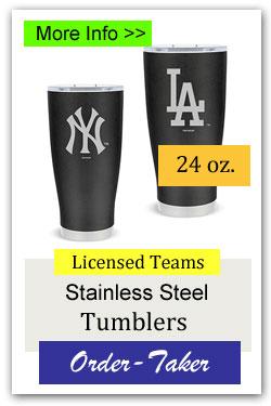 Stainless Steel Team Tumblers Order-Taker Fundraiser