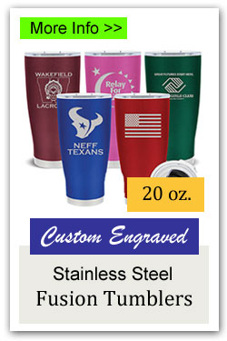 Fusion Stainless Steel 20oz Tumbler Fundraiser
