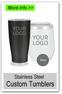 20oz Custom Stainless Steel Tumblers for Fundraising