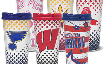 24 Ounce Sports Tumblers for Fundraising