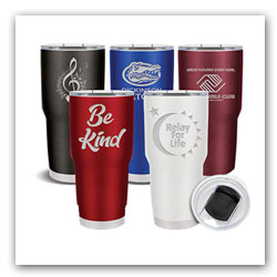 30oz Custom Fusion Stainless Steel Tumblers