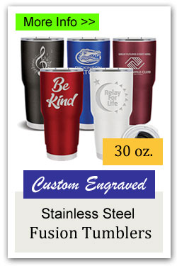 Fusion Stainless Steel 30oz Tumbler Fundraiser