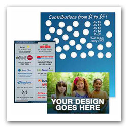 Custom Scratchcards for Fundraising
