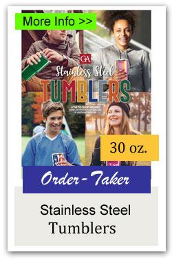 Stainless Steel Tumbler Order-Taker Fundraiser