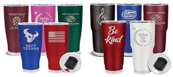 Tumblers for Fundraising