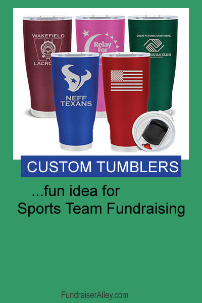 Custom Tumblers - Fun Idea for Sports Team Fundraising