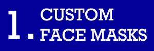 1 - Custom Face Masks Fundraiser